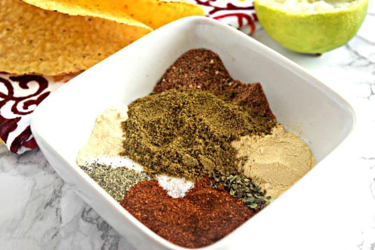 Homemade Taco Seasoning – Gluten Free, Vegan