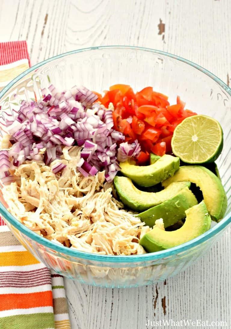 Avocado Chicken Salad – Gluten Free, Dairy Free