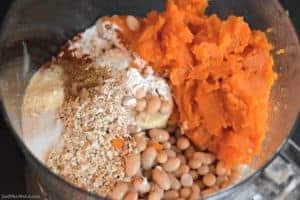 Gluten Free Vegan Sweet Potato Burgers