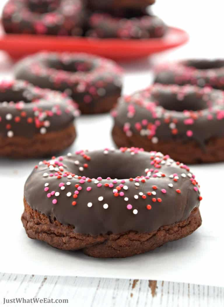 Baked Chocolate Cake Donuts – Gluten Free, Vegan, Refined Sugar Free
