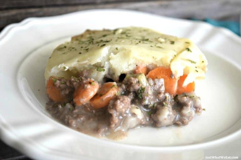 Creamy Shepherds Pie – Gluten Free & Dairy Free