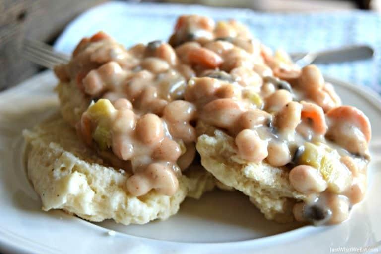 Biscuit Pot Pie – Gluten Free & Vegan