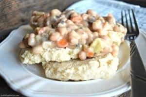 Biscuit Pot Pie - Gluten Free & Vegan