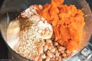 Sweet Potato Burgers - Gluten Free & Vegan