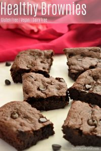 These gluten free and vegan brownies taste amazing and have the perfect fudgy texture! Who knew making brownies from scratch could be so simple and delicious? The best part is that these are healthy brownies using natural sweeteners and healthier flour options!