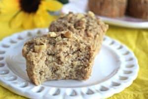 Banana Nut Muffins - Gluten Free, Vegan, & Refined Sugar Free