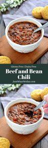 Beef and Bean Chili - Gluten Free, Dairy Free