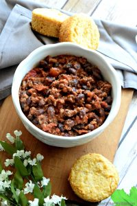 Beef and Bean Chili - Gluten Free