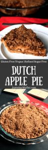 Dutch Apple Pie - Gluten Free, Vegan, & Refined Sugar Free
