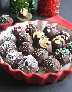 Brownie Truffles - Gluten Free & Vegan