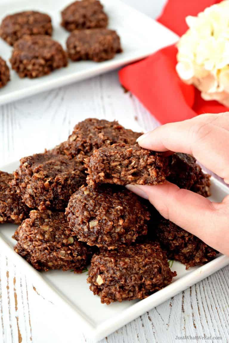 No Bake Cookies – Gluten Free, Vegan, & Refined Sugar Free