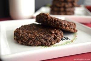 No Bake Cookies - Gluten Free, Vegan, & Refined Sugar Free