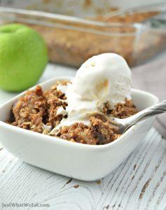 Apple Crisp - Gluten Free, Vegan, & Refined Sugar Free