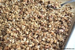 Granola - Gluten Free, Dairy Free, & Refined Sugar Free