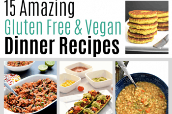 These gluten free and vegan recipes are so delicious! These recipes are perfect for Veganuary and are sure to be a hit with the whole family! #glutenfree #veganuary #vegan #dairyfree #dinner #recipes