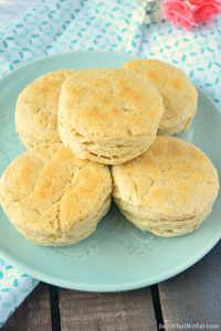 """Southern """"Buttermilk"""" Biscuits - Gluten Free & Vegan"""