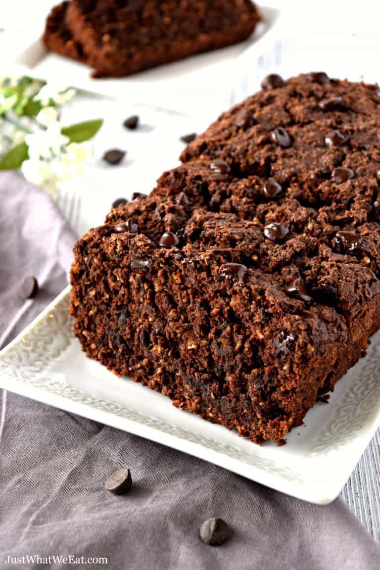 Chocolate Zucchini Bread – Gluten Free, Vegan