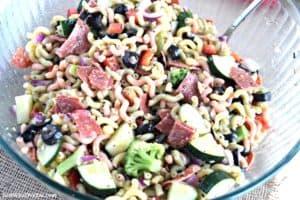 Italian Pasta Salad - Gluten Free & Dairy Free