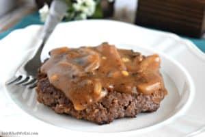 Salisbury Steak - Gluten Free & Dairy Free