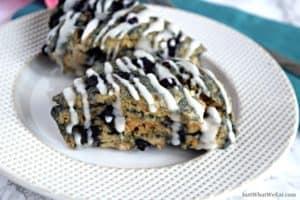 Blueberry Scones - Gluten Free, Vegan, & Refined Sugar Free