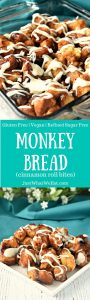 Monkey Bread - Gluten Free, Vegan, Refined Sugar Free, & Yeast Free