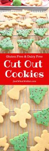 Cut Out Cookies - Gluten Free and Dairy Free
