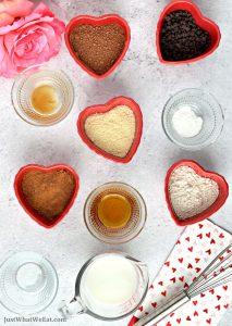 Healthy Chocolate Mug Cake - Gluten Free, Vegan, Refined Sugar Free