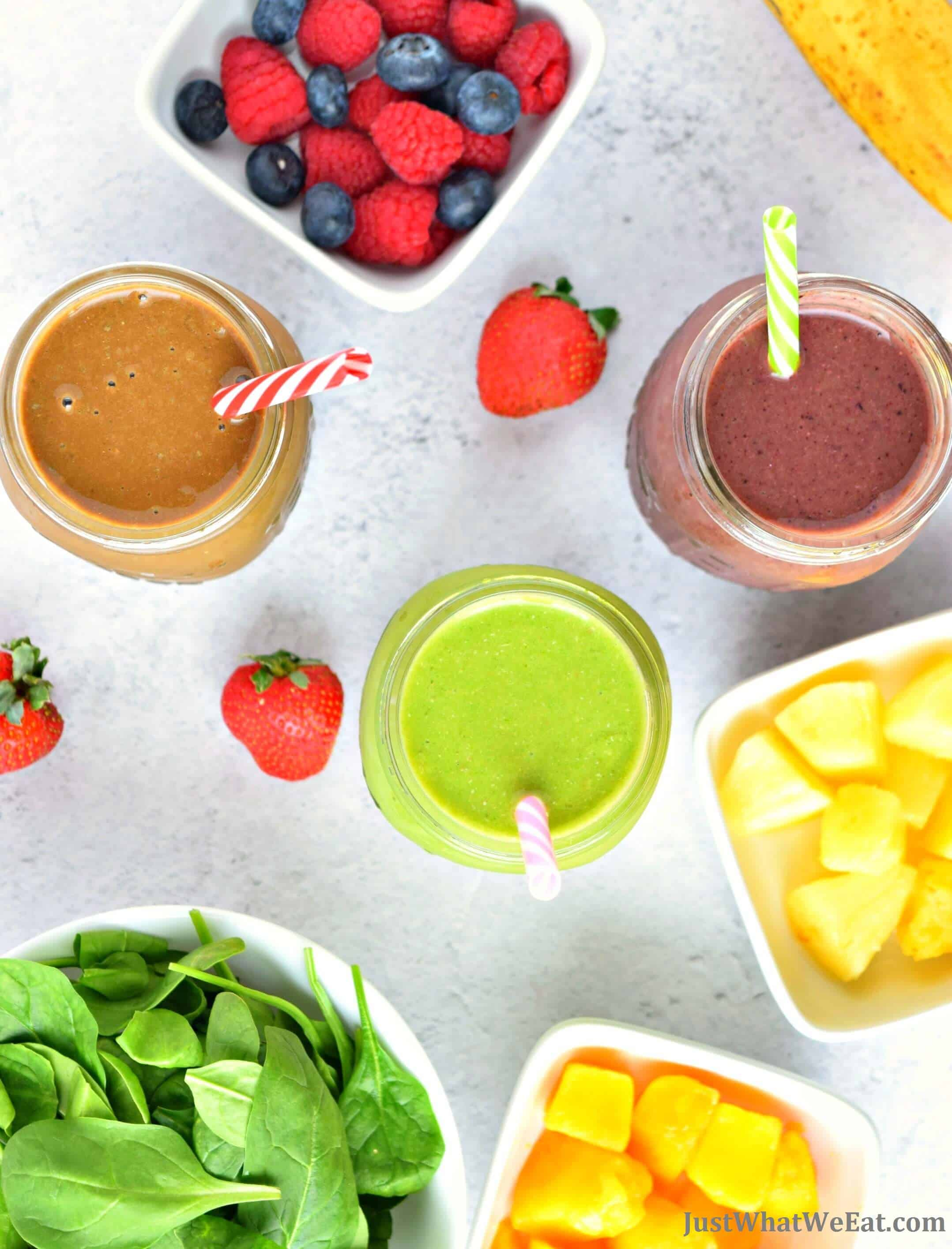 Healthy Smoothie Recipes - Gluten Free, Vegan, Dairy Free, Refined Sugar Free
