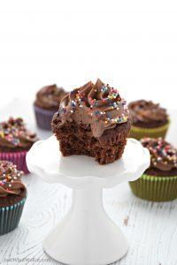 Gluten Free Vegan Dairy Free Chocolate Cupcakes