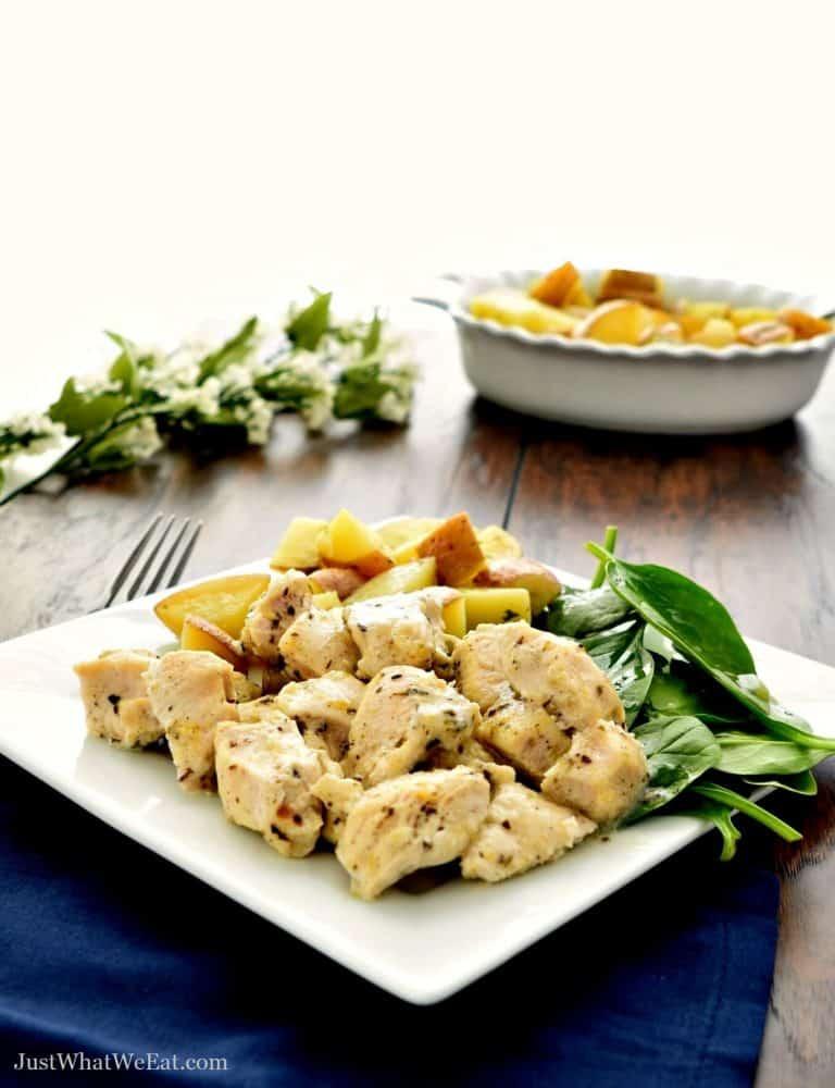Greek Lemon Chicken – Gluten Free, Dairy Free