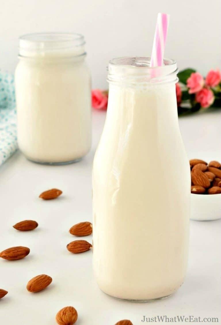 Homemade Almond Milk – Gluten Free, Vegan