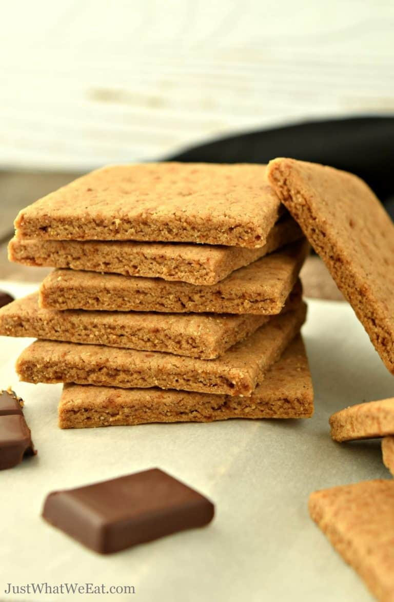 Graham Crackers – Gluten Free, Vegan, Refined Sugar Free