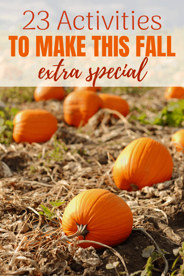 23 ways to make this Fall extra special. With a free printable Fall Bucket list.