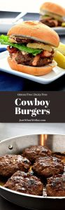 These Cowboy Burgers are topped with bacon, crispy onions, BBQ mayo, and taste incredible! They are the perfect summertime dinner option!