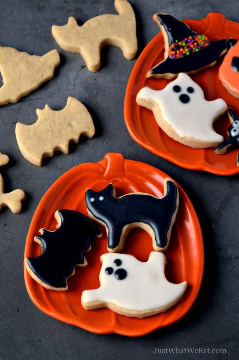 Halloween Cut Out Cookies – Gluten Free, Vegan