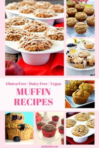 These gluten free and dairy free muffin recipes all taste amazing and are super easy to make! They are the perfect breakfast treat! #glutenfree #vegan #dairyfree #muffins #muffinrecipes #glutenfreemuffins