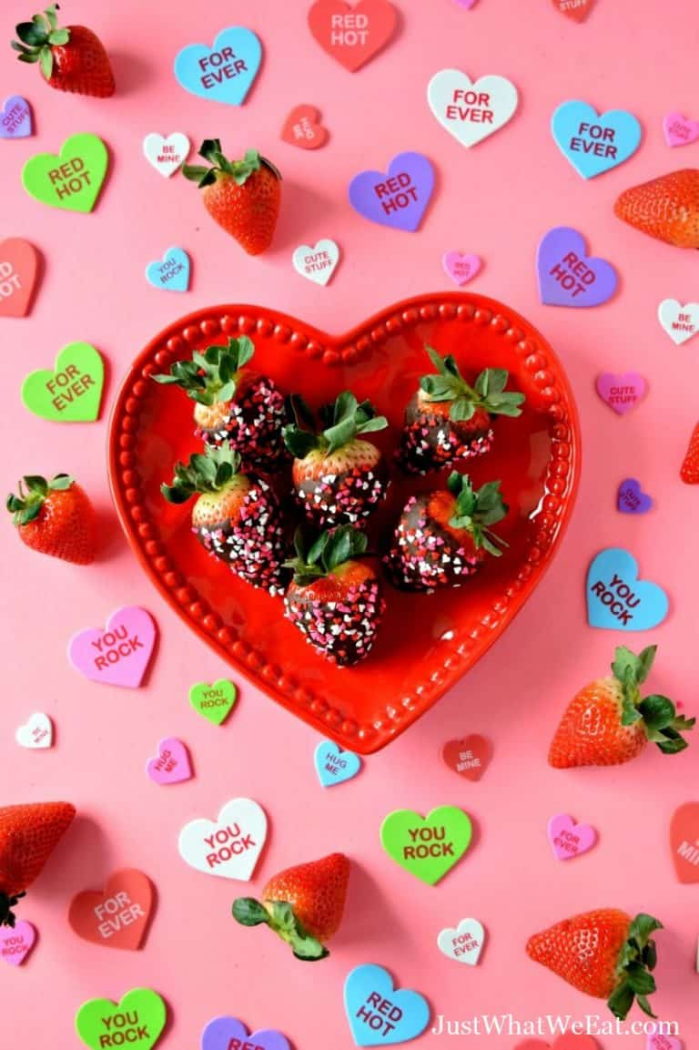 Chocolate Covered Strawberries – Gluten Free, Vegan