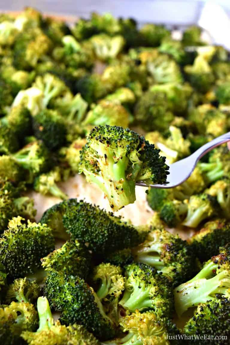 Oven Roasted Broccoli – Gluten Free, Vegan