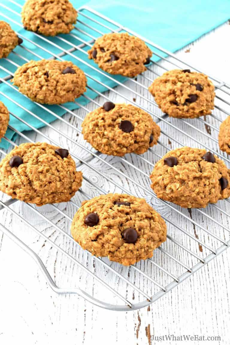 Gluten Free Chocolate Chip Oatmeal Cookies – Vegan