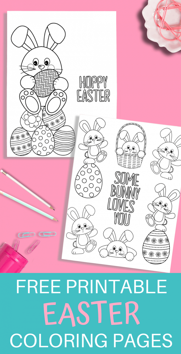 Easter Printable Coloring Pages