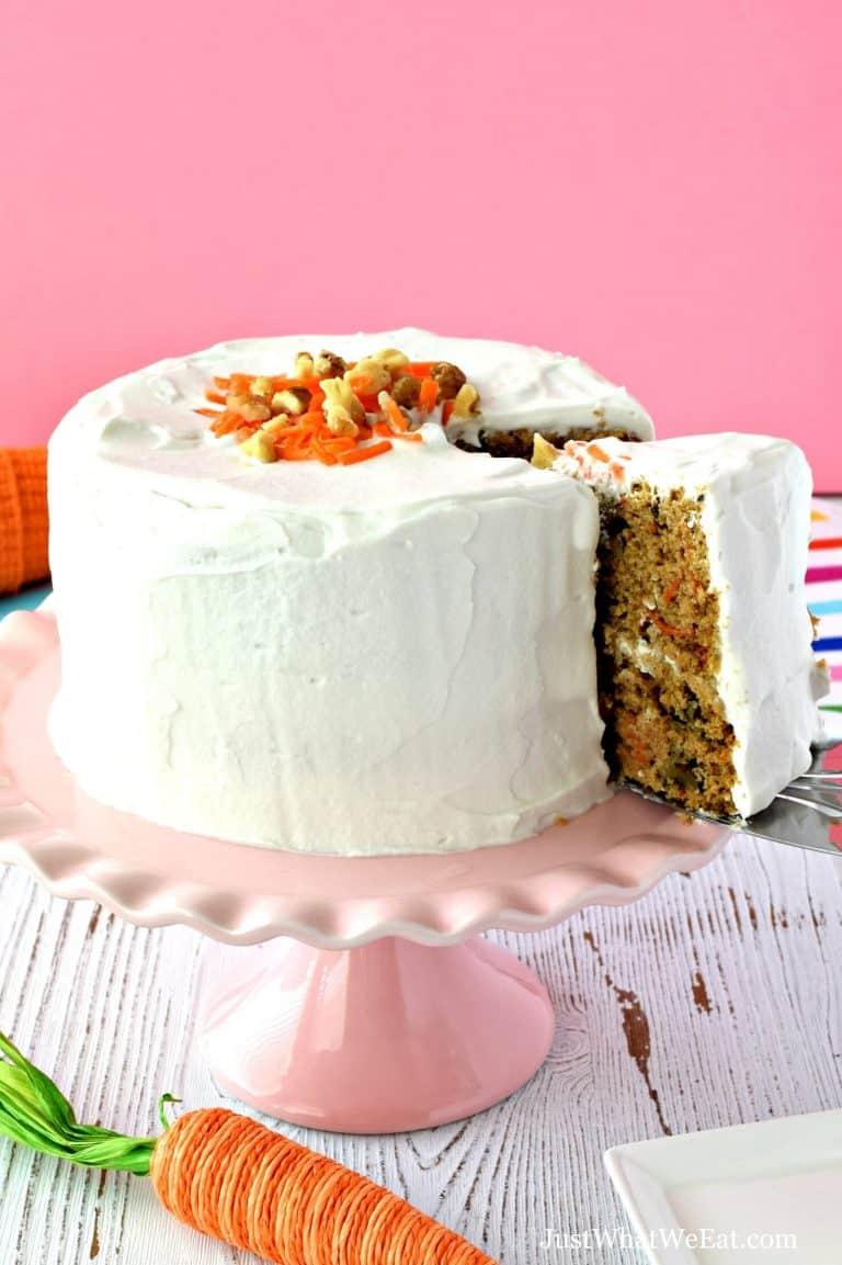 Carrot Cake – Gluten Free, Vegan