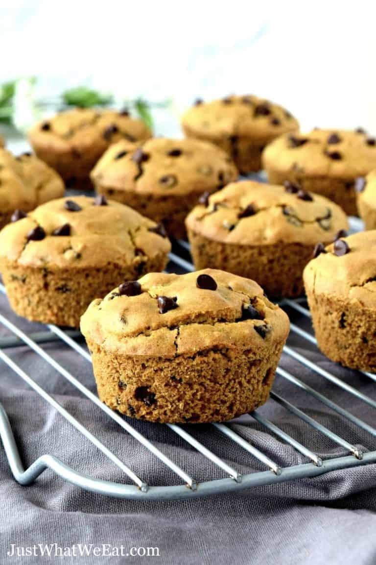 Gluten Free Vegan Chocolate Chip Muffins
