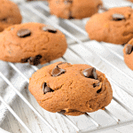 Chocolate Chip Pumpkin Cookies - Gluten Free, Vegan