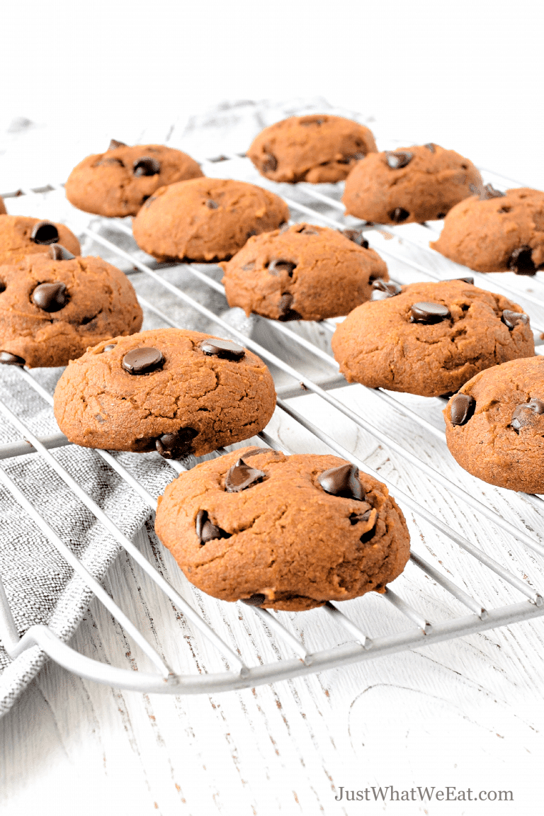 Chocolate Chip Pumpkin Cookies – Gluten Free, Vegan