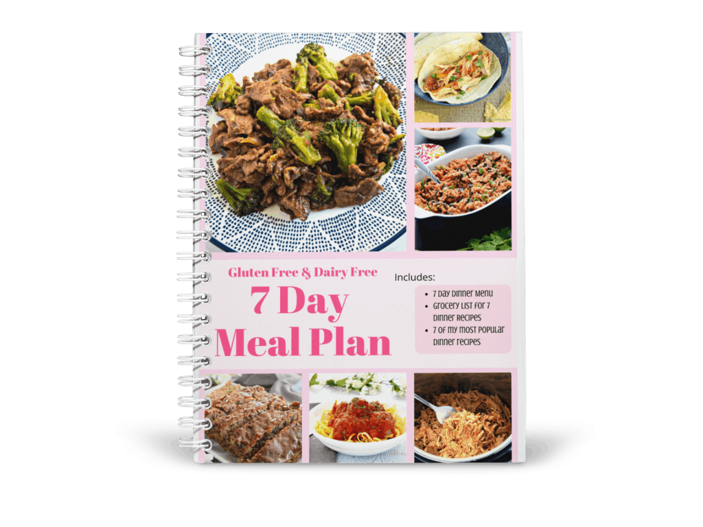 7 Day Gluten Free & Dairy Free Meal Plan-Mockup