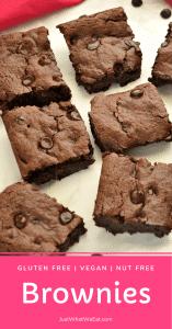 Brownies - Gluten Free, Vegan, Nut Free