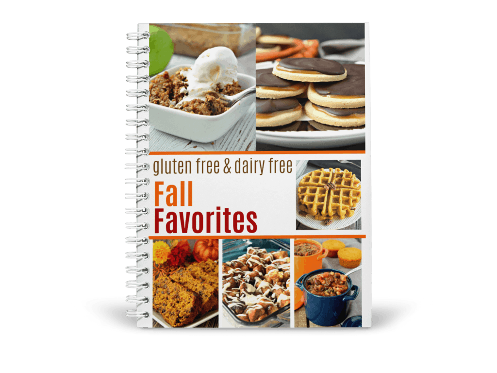 Gluten Free & Dairy Free Fall Favorites Recipes Mockup