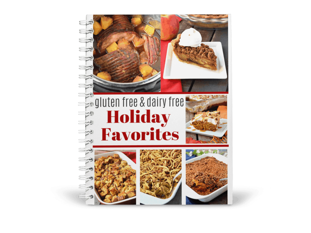 Gluten Free & Dairy Free Holiday Favorites Mockup