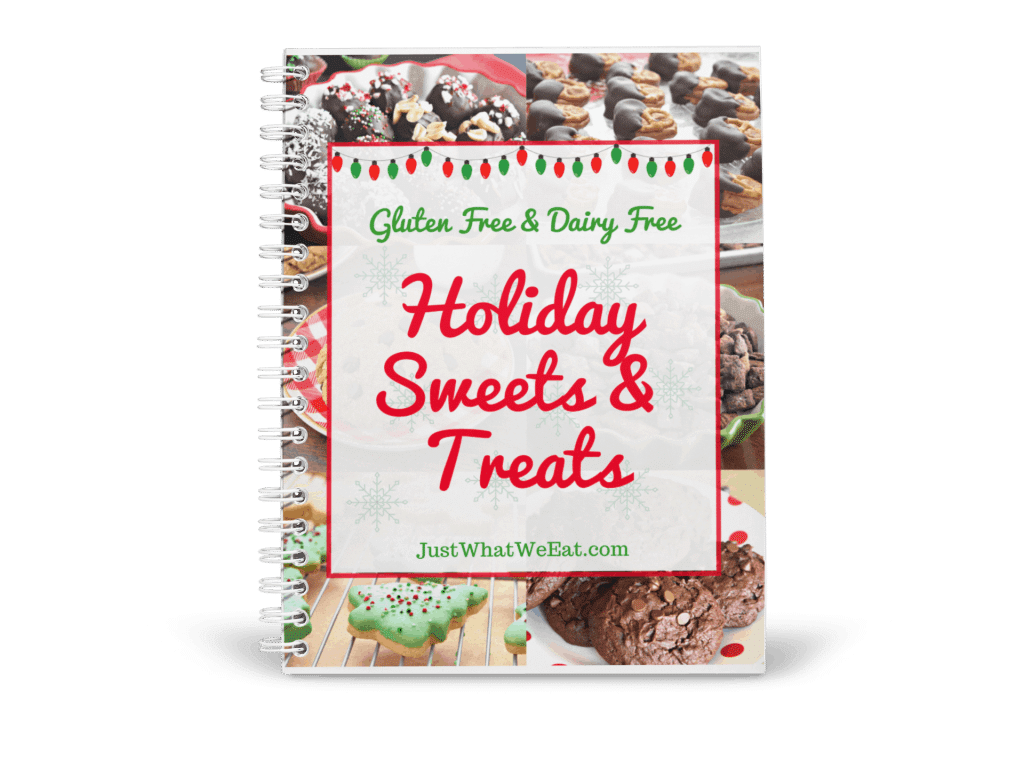 Gluten Free & Dairy Free Holiday Sweets and Treats Mockup
