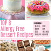 15+ Amazing Top 8 Allergy Free Dessert Recipes